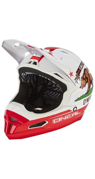 ONeal Fury RL Helmet California white/red